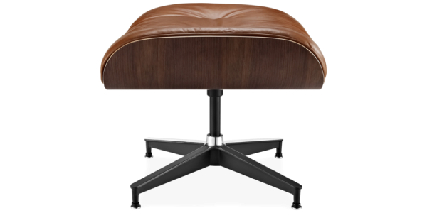 Lounge tuoli ja rahi, ruskea NÄYTEKPL